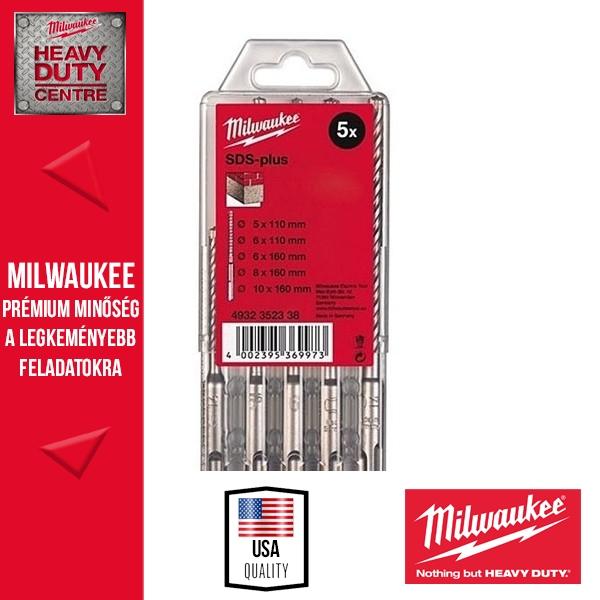 Milwaukee SDS-plus Fúrószárszett 5 db