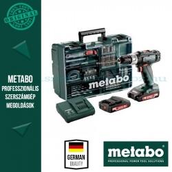 Metabo BS 18 L SET AKKUS FÚRÓCSAVAROZÓ
