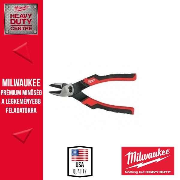 Milwaukee Oldalcsípőfogó 160 mm