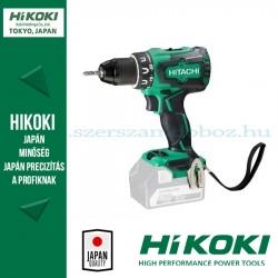 Hitachi (HiKOKI) DS18DBSL-BASIC Akkus fúró-csavarozó alapgép
