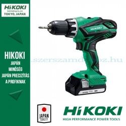 Hitachi (HiKOKI) DS18DJL-3AH Akkus fúró-csavarozó szett