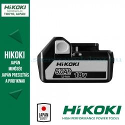 Hitachi (HiKOKI) BSL1850 Csúszótalpas lítium-ion akku 18V, 5,0Ah