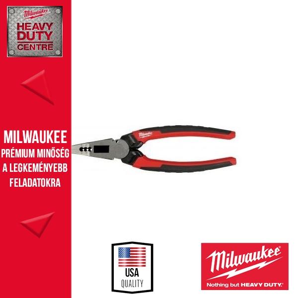 Milwaukee Hosszúcsőrű kábelcsupaszító fogó 6 az 1-ben