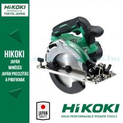 Hitachi (HiKOKI) C3606DA-BASIC MULTIVOLT 36V-os akkus körfűrész alapgép szénkefe nélküli motorral