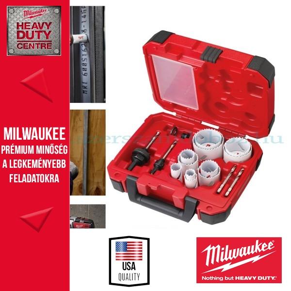 "Milwaukee ""HOLE-DOZER"" dobozfúró készlet 14 darab"