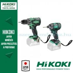 Hitachi (HiKOKI) Akkus Gépcsomag (DS18DBSL-BASIC fúró-csavarozó + WH18DBDL2-BASIC fúró-ütvecsavarozó)