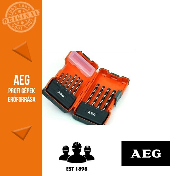 AEG Kőzetfúró készlet