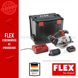 FLEX CS 62 18.0-EC/5.0 Set akkus körfűrész 2x5.0Ah akkuval