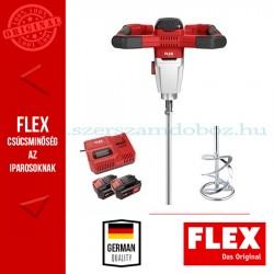 FLEX MXE 18.0-EC/5.0 Set akkus keverőgép 2x5.0Ah akkuval