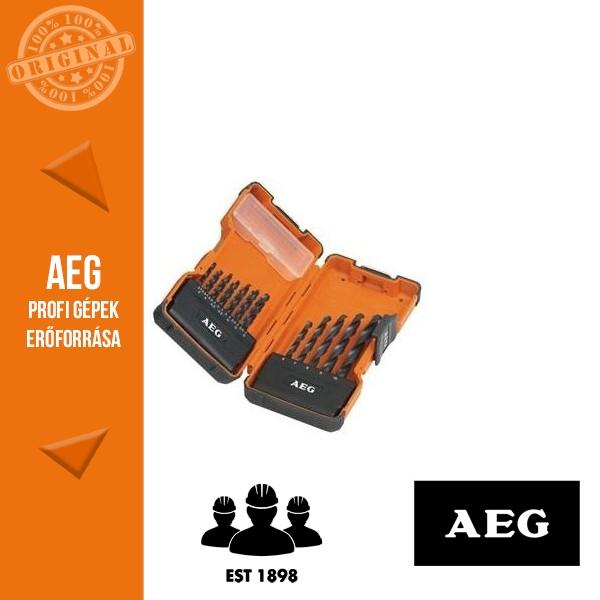 AEG HSS-R (DIN338) Fúrószár készlet