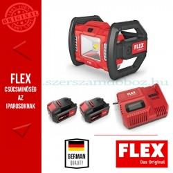 FLEX CL 2000 18.0 / 5,0 Ah szett Akkus LED építkezési spotlámpa