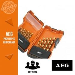 AEG HSS-G TIN Fúrószár készlet