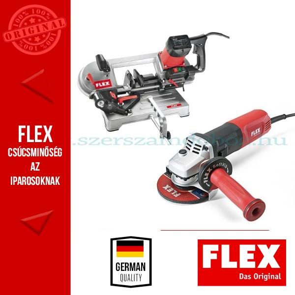 Flex lakatos csomag (SBG 4910 szalagfűrész + LE 14-11 125 sarokcsiszoló)