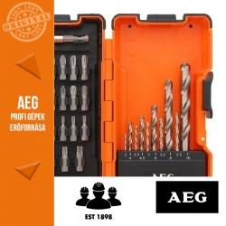 AEG HSS-G (DIN 338) Fém fúró-csavarozó készlet
