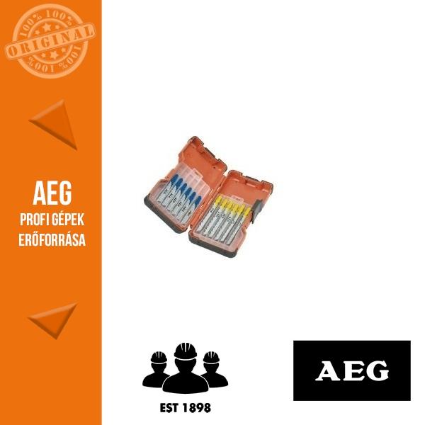 AEG Szúrófűrészlap készlet fához és fémhez