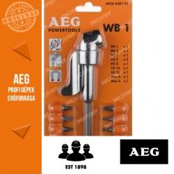 AEG WB1 SZETT – Sarokcsavarozó tartozék 10 db bittel