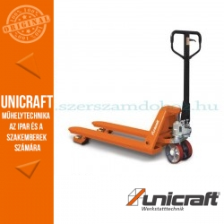 Unicraft PHW 2505 K kézi hidraulikus rövid villás raklapmozgató 2,5t