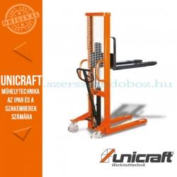 Unicraft GHHW 1000 kézi hidraulikus magasemelésű raklapmozgató 1t