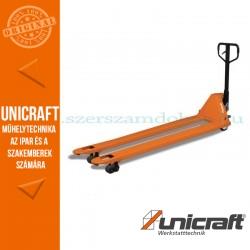 Unicraft PHW 2506 L kézi hidraulikus raklapmozgató 2,5t