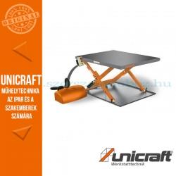 Unicraft SHT 1001 G hidraulikus ollós emelőasztal - alacsony