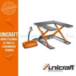 Unicraft SHT 1001 U hidraulikus ollós emelőasztal - U profil