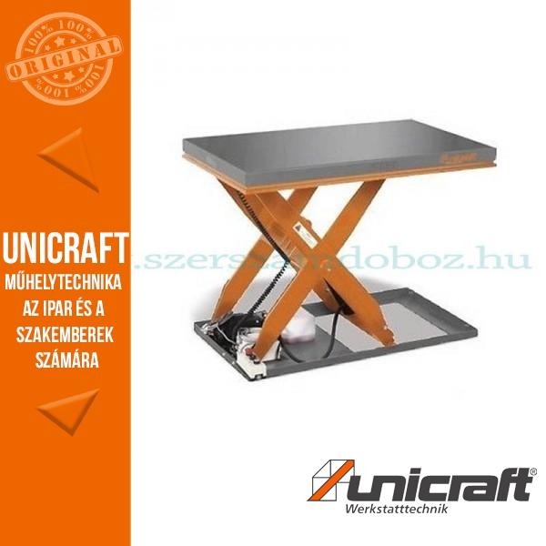 Unicraft SHT 2000 hidraulikus ollós emelőasztal