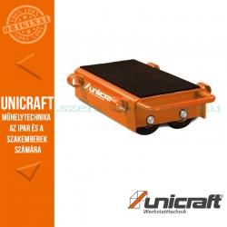 Unicraft VTR 12 szállítógörgő szett 12t (2 db. 4-es görgő, 2 db. acélrúd)