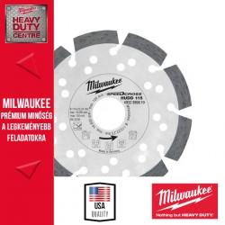 Milwaukee HUDD 115 Speedcross Gyémánttárcsa