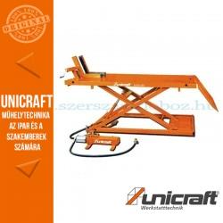 Unicraft MHB 680 motorkerékpár emelőasztal - pneumatikus