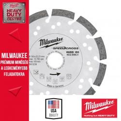 Milwaukee HUDD 150 Speedcross Gyémánttárcsa