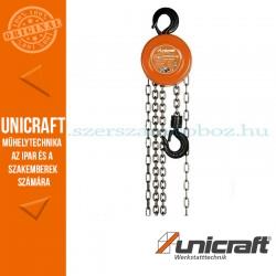 Unicraft K 10000 mechanikus láncos emelő csörlő 10t