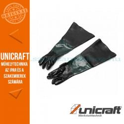 Unicraft SSK 2 homokszóró védőkesztyű