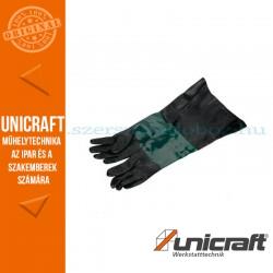 Unicraft SSK 2.5 / 3.1 / 4 homokszóró védőkesztyű