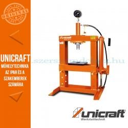 Unicraft WPP 10 TE hidraulikus műhelyprés asztali 10t