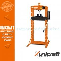 Unicraft WPP 20 E hidraulikus műhelyprés 20t