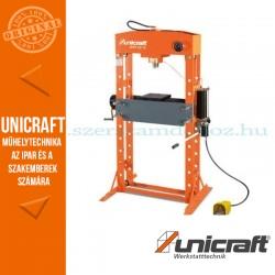 Unicraft WPP 50 E hidraulikus műhelyprés 50t