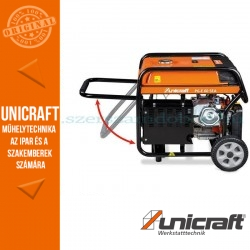 Unicraft Szinkrongenerátoros PG-E 60 SEA áramfejlesztő