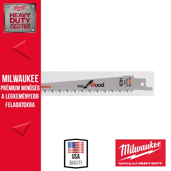 Milwaukee S644D Fűrészlap 3 db