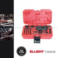 Ellient Tools Lánc szétnyomó és szegecselő szerszámkészlet, 14 darabos