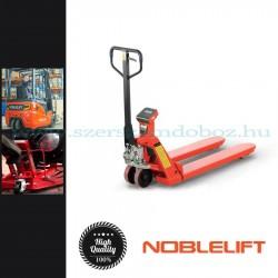Noblelift Hidraulikus raklapemelő, mérleggel, 2t