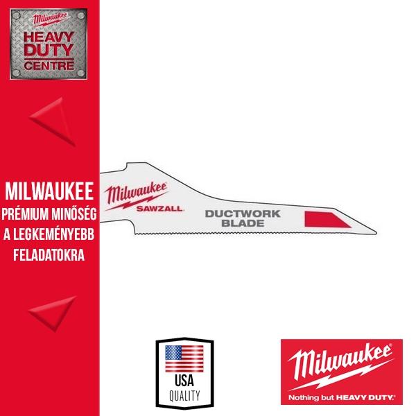 Milwaukee Fémlemezvágó fűrészlap 5 db