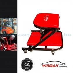 """Winmax Tools Aláfekvő + szerelő szék 2:1-ben, 36"""""""