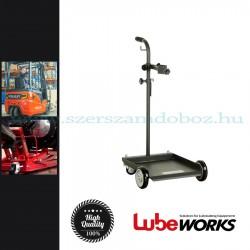 Lube Works Hordó szállító kocsi, 20-60kg