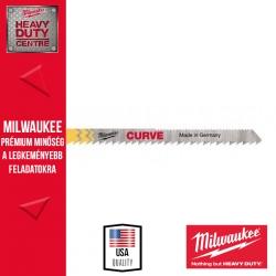 Milwaukee CURVE Ívben vágó szúrófűrészlap 5 db