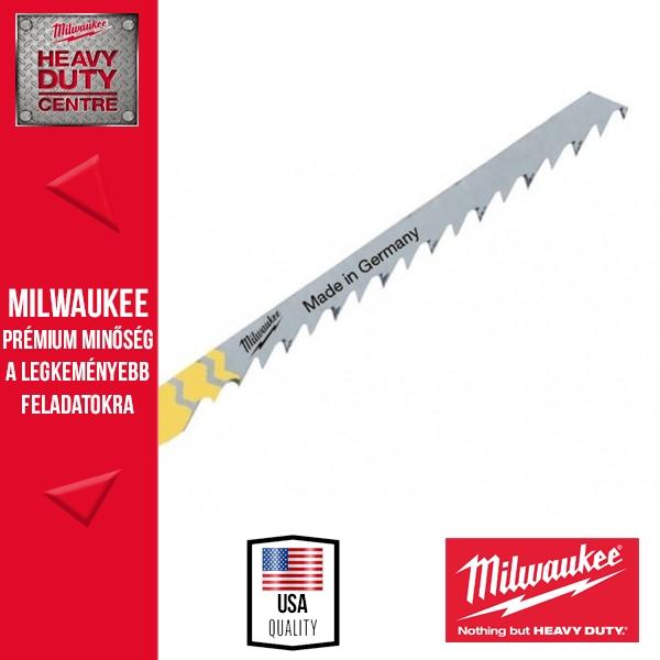 Milwaukee T 244 D Ívben vágó szúrófűrészlap 5 db