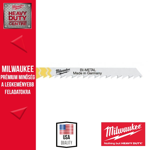 Milwaukee T 144 DF Gyorsvágó szúrófűrészlap 5 db