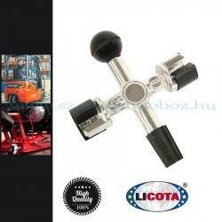 Licota Tools Akkumulátor pólus tisztító+maró