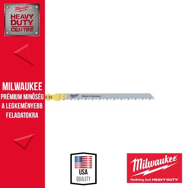 Milwaukee T 744 D Gyorsvágó szúrófűrészlap 5 db