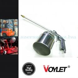 Voylet Pneumatikus szórópisztoly alvázvédőhöz és mosóanyaghoz, 750ml