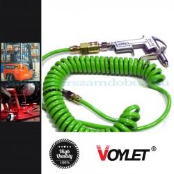 Voylet Pneumatikus lefúvató (tisztító) pisztoly pu 5m-es spirális tömlővel